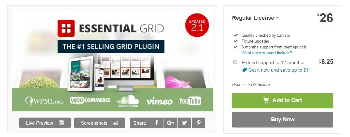 essential grid wordpress plugin documentation