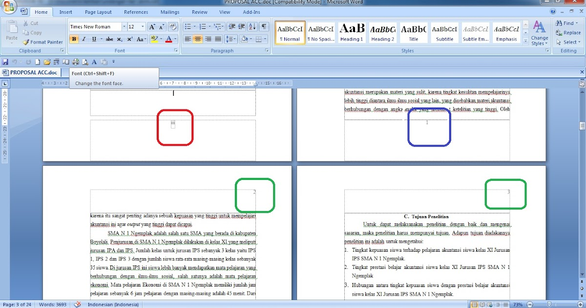 microsoft word single document no pages