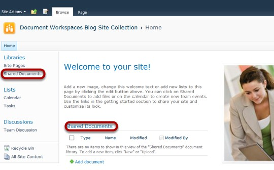how to use sharepoint 2010 for document management