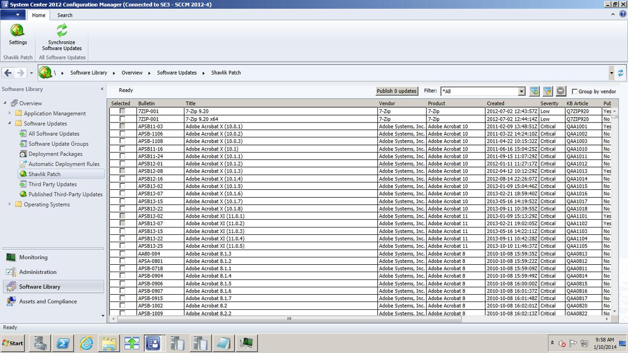 microsoft sccm 2012 r2 documentation