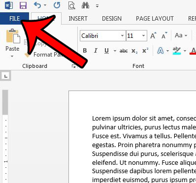 how to save a word document as a template