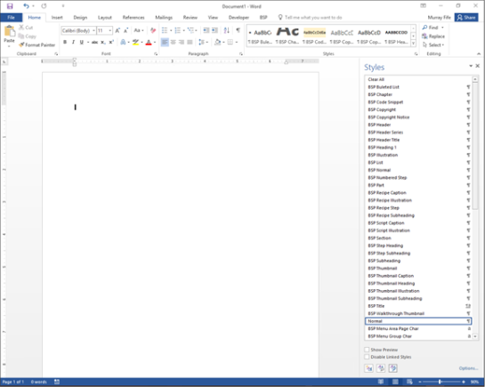 how can i change the author of a word document