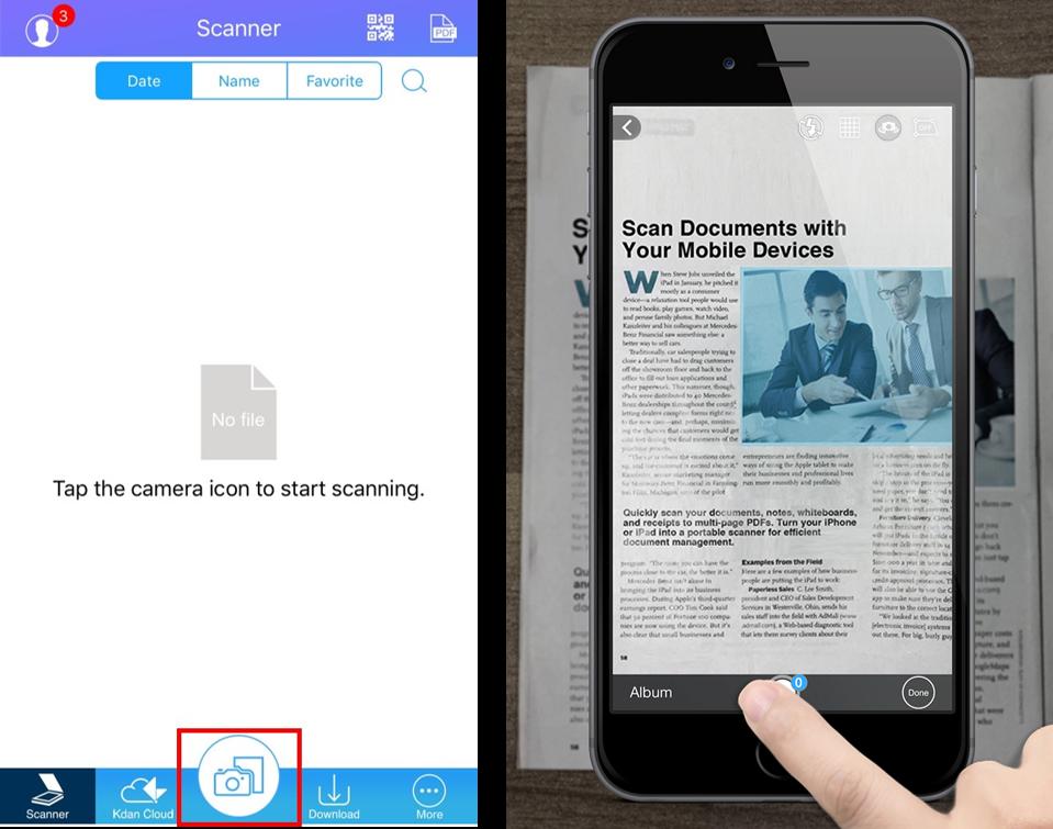 edit pdf scanned document online