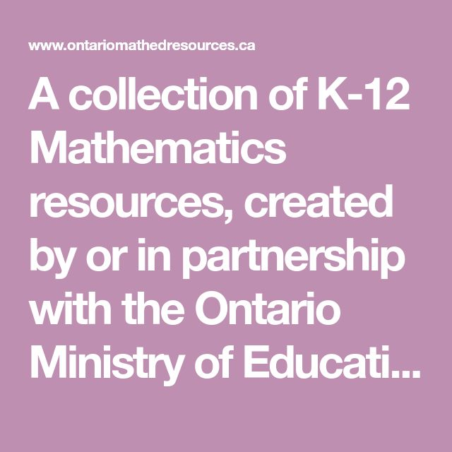 ontario ministry of education released the new kindergarten program document