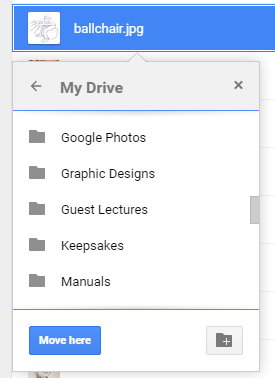 google drive document in multiple folders