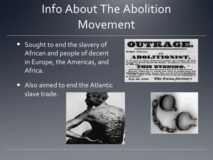 what document ended the trans atlantic slave trade