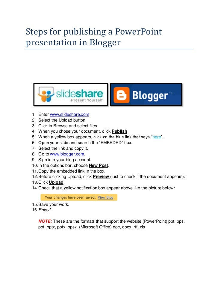 upload word document to blogger