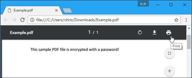 remove document open password pdf