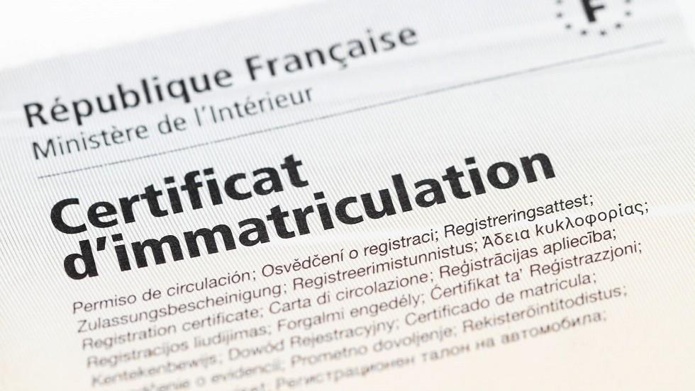 document demande de certificat d immatriculation