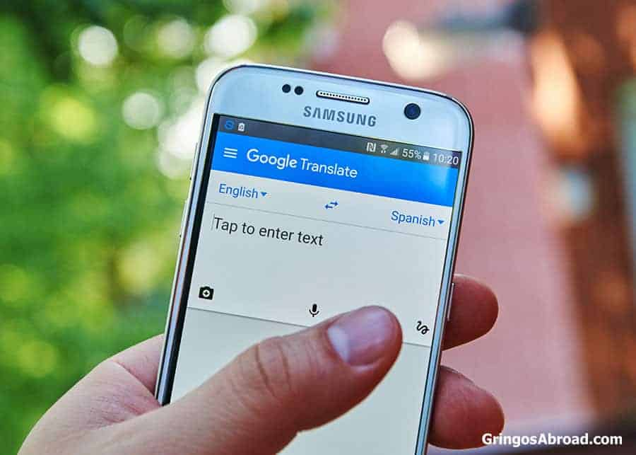 google translate document from english to spanish