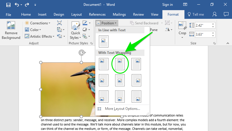 can open document text be opened in word