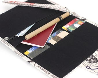 family passport and document case
