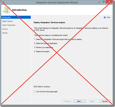 how to document ssis packages