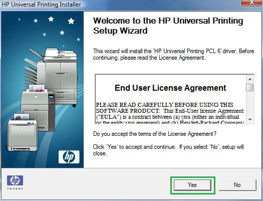 windows printer generic end of document