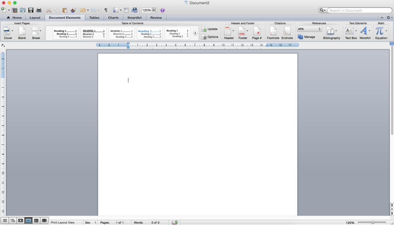 word document frozen on mac