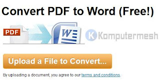 zamzar convert pdf to word document