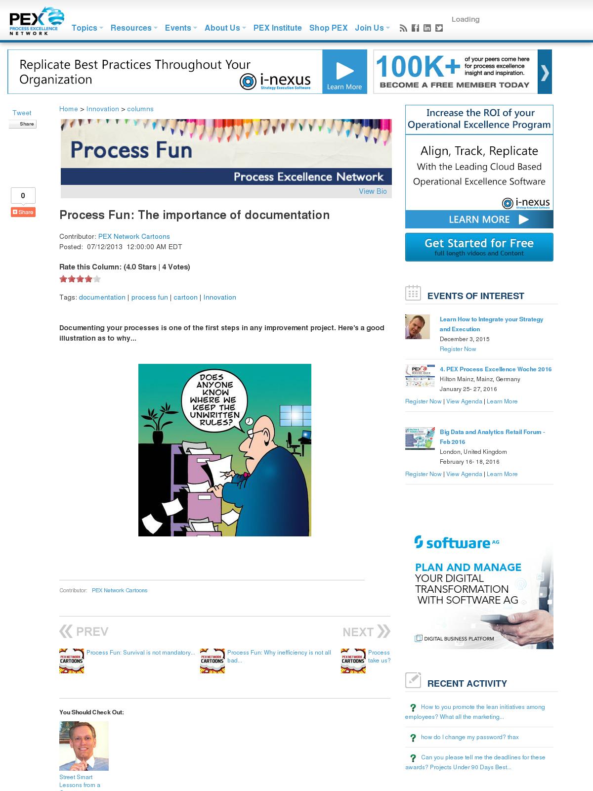 importance of process documentation