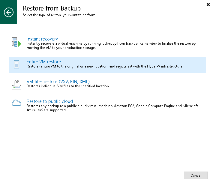 backup and recovery procedures documentation