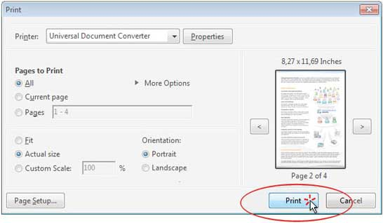 how to convert a document to jpg