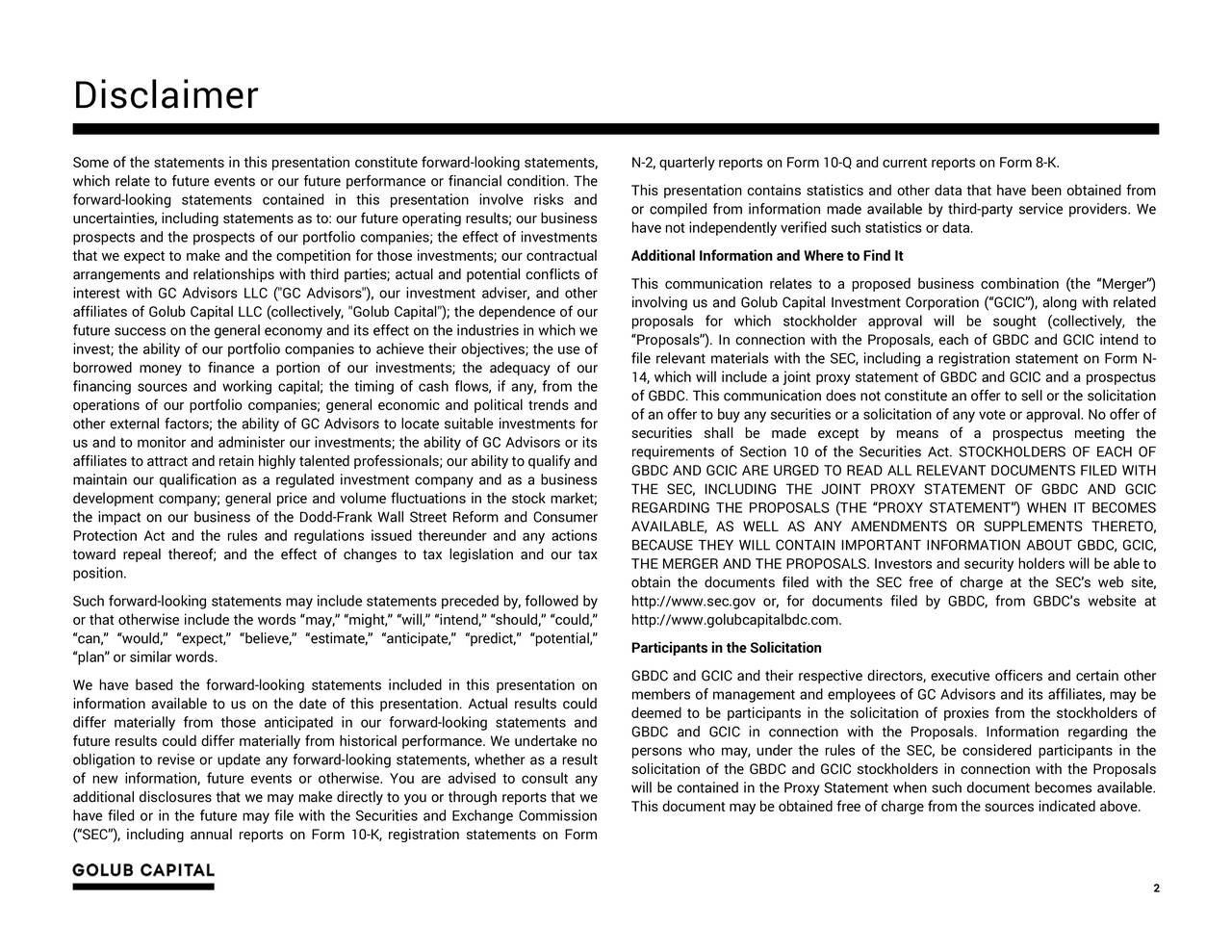 capital markets and key participants document