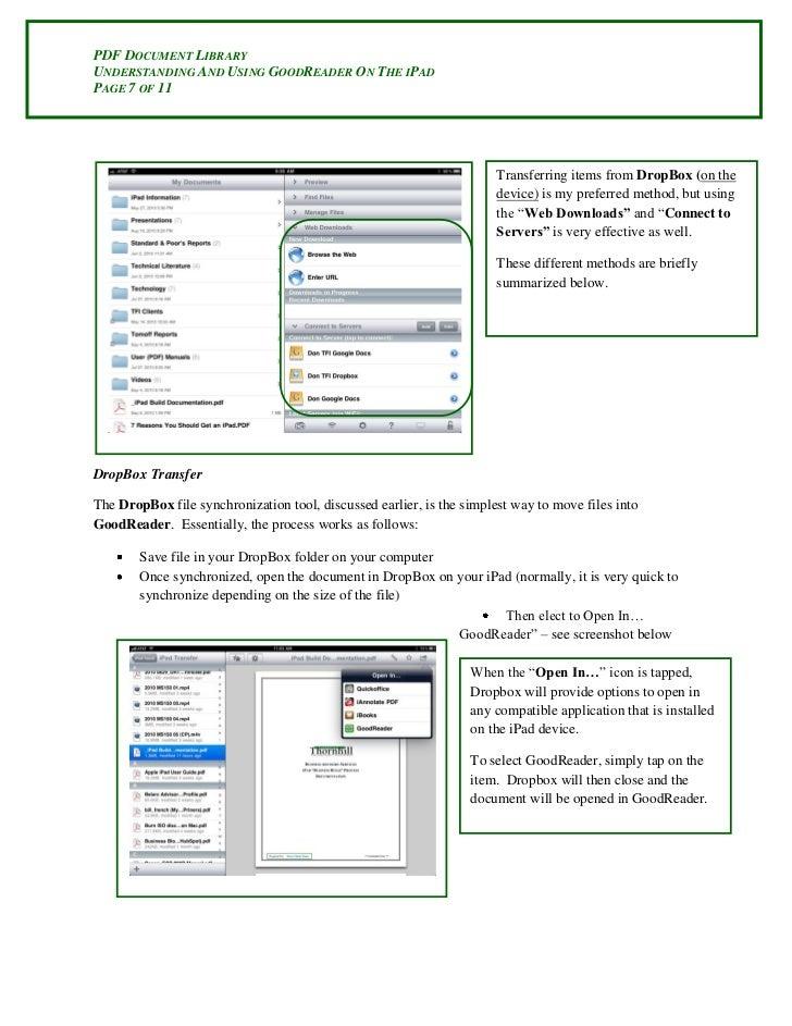 save document as pdf on ipad