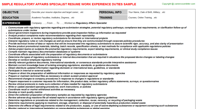 documentation specialist job description