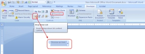 how to insert and delete when rfeviewing word document
