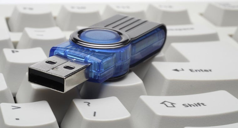 how to save document on a memory stick