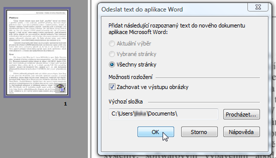 microsoft office document imaging 2003 ocr