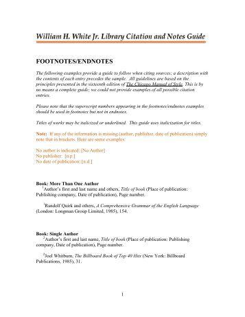 mla documentation style footnotes