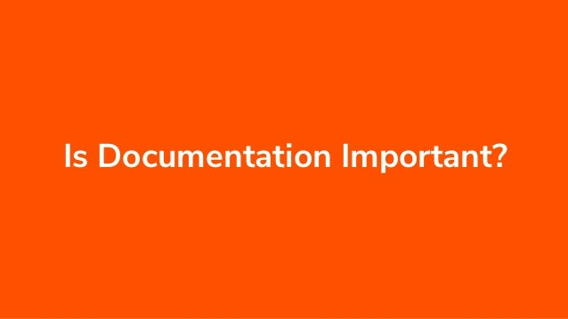 open source project documentation