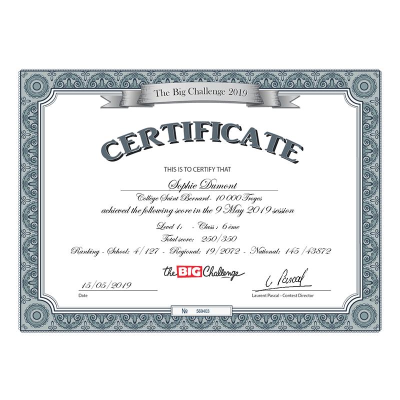 prix pour document a certifier