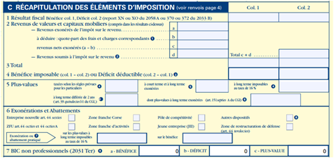 quel document pour declaration impot