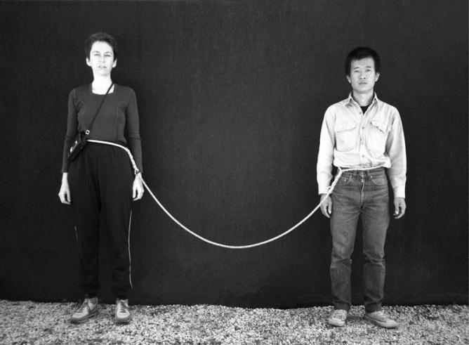 teching hsieh rope piece document