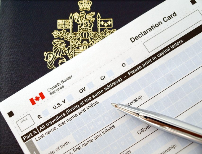 what travel document travel from canada to mexico